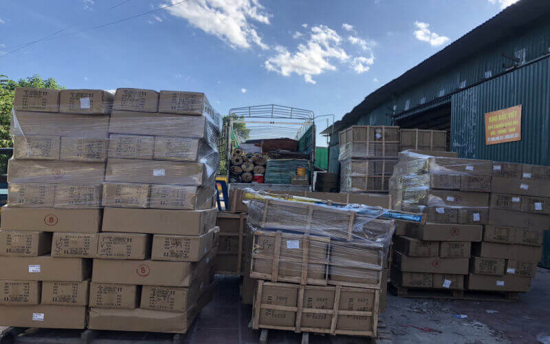 Ảnh 1: Nhu cầu gửi hàng từ Hà Nội đi Đà Nẵng ngày càng tăng cao (Nguồn: Internet)