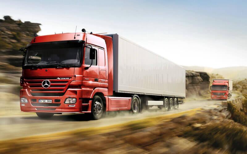 Vận tải bằng đường bộ luôn đảm bảo giao hàng an toàn, nhanh chóng